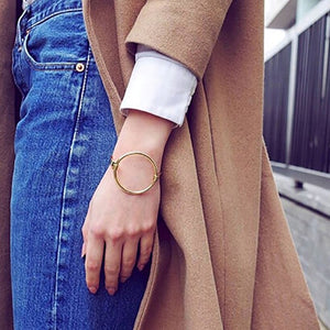 Valentine - Big Hoop Bangle - aalto-store