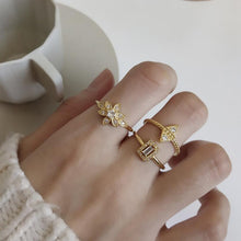 Load image into Gallery viewer, Bella - Geometric Open Rings - aalto-store