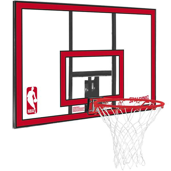 Spalding NBA Polycarbonate Backboard Basketball System