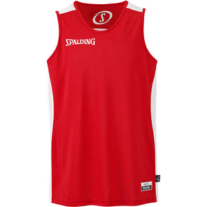 Spalding Essential Reversible Basketball Kit Red White