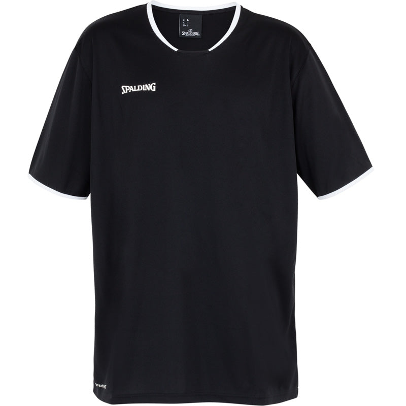 Spalding Move Kids Shooting Shirt SS Black White