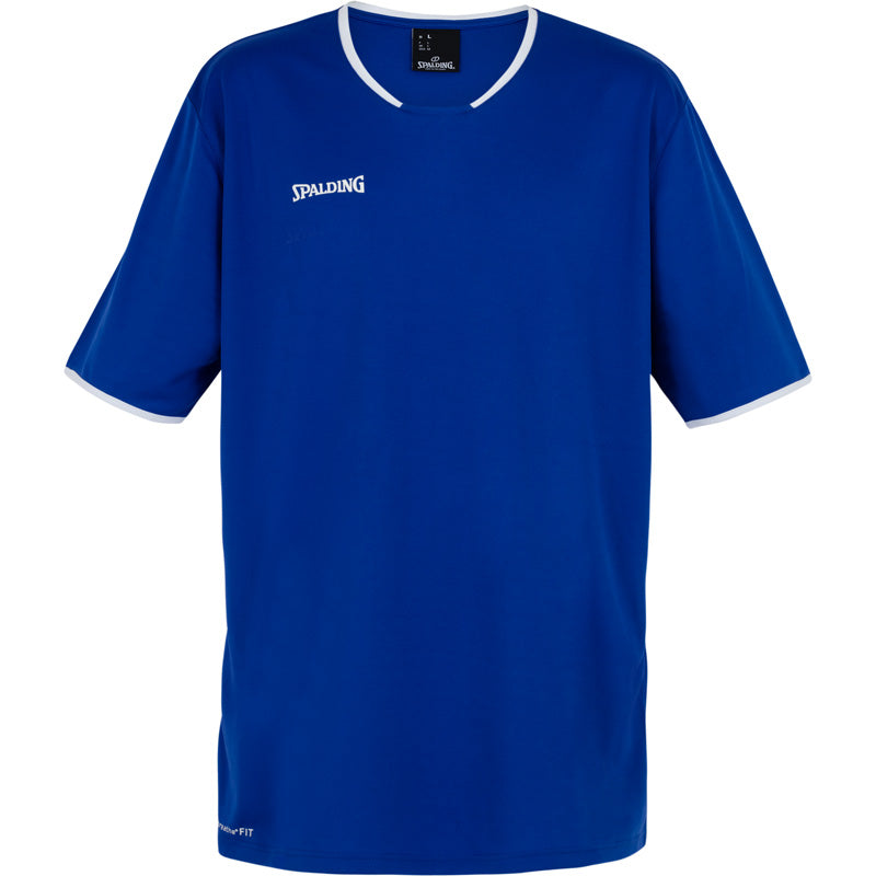 Spalding Move Kids Shooting Shirt SS Royal White