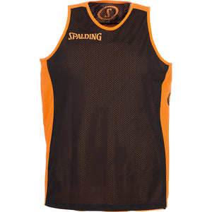 Spalding Essential Reversible Basketball Kit Orange Black