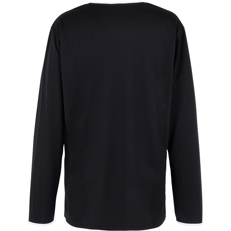 Spalding Move Shooting Shirt LS Black White