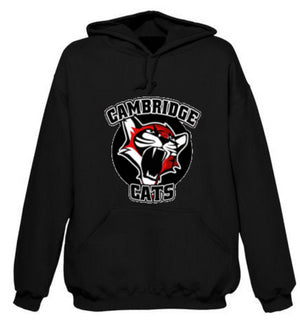 Cambridge Cats White T Shirt & Black Hoodie Package