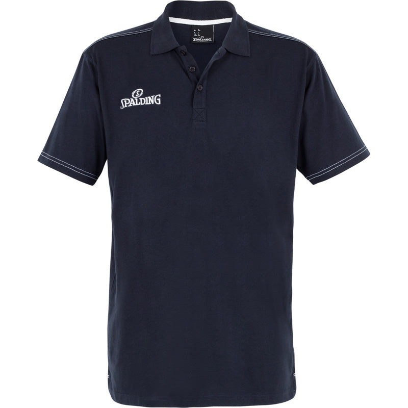 Spalding Polo Shirt Slim Cut Navy