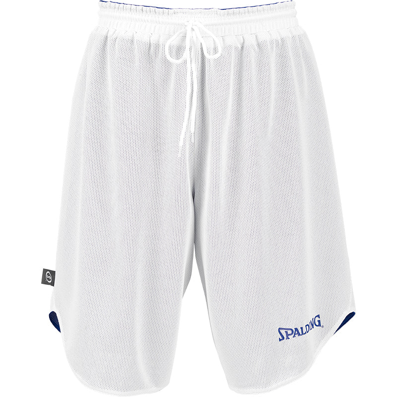 Kids Spalding Doubleface Set Royal White