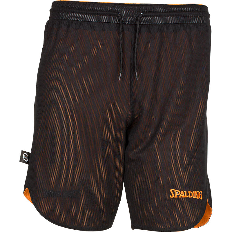 Young Adults Spalding Doubleface Set Orange Black