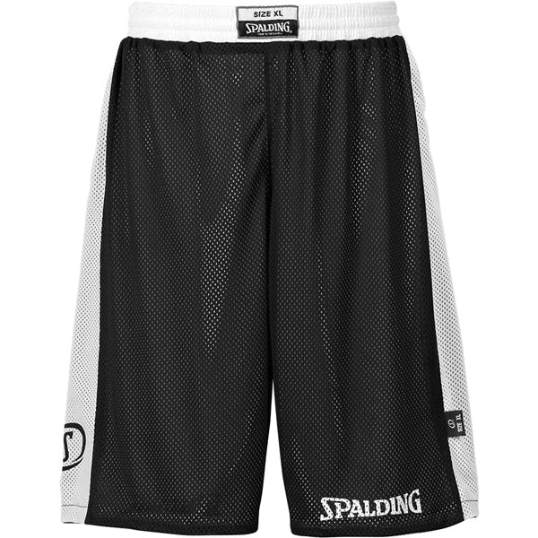 Spalding Essential Reversible Basketball Kit Black White