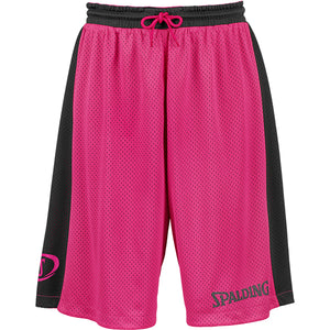Spalding Essential Reversible Basketball Kit Black Pink
