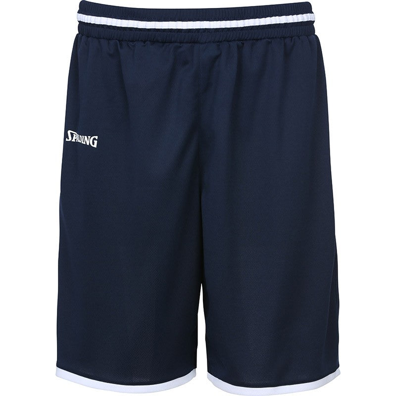 Spalding Move Shorts Navy/White