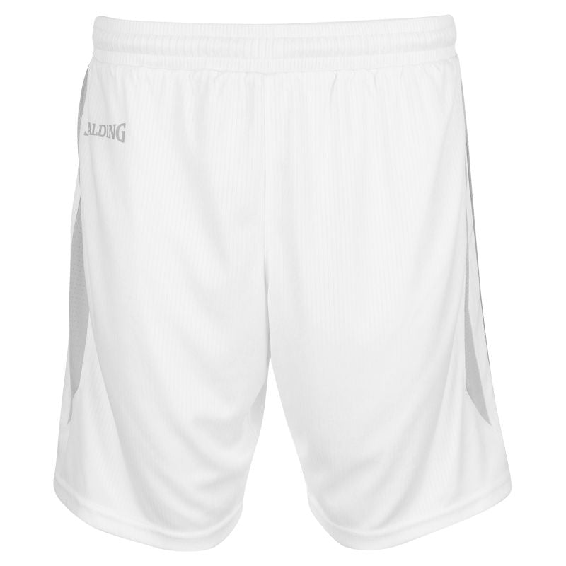 Spalding 4Her III Shorts White/Silver Grey