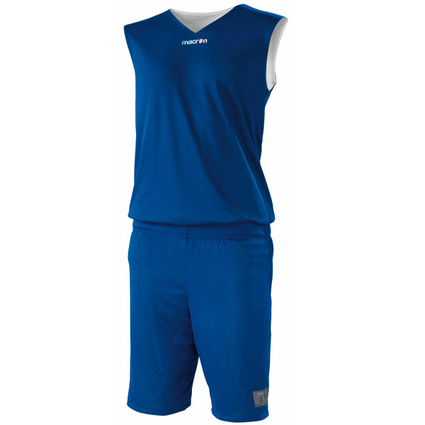 Macron X300 Reversible Basketball Kit Blue/White