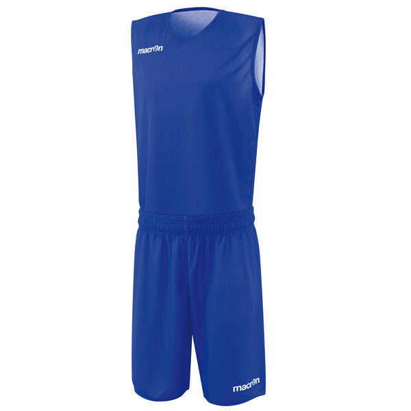 Macron X400 Reversible Basketball Kit Blue/White