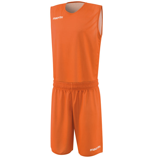 Macron X400 Reversible Basketball Kit Orange/White