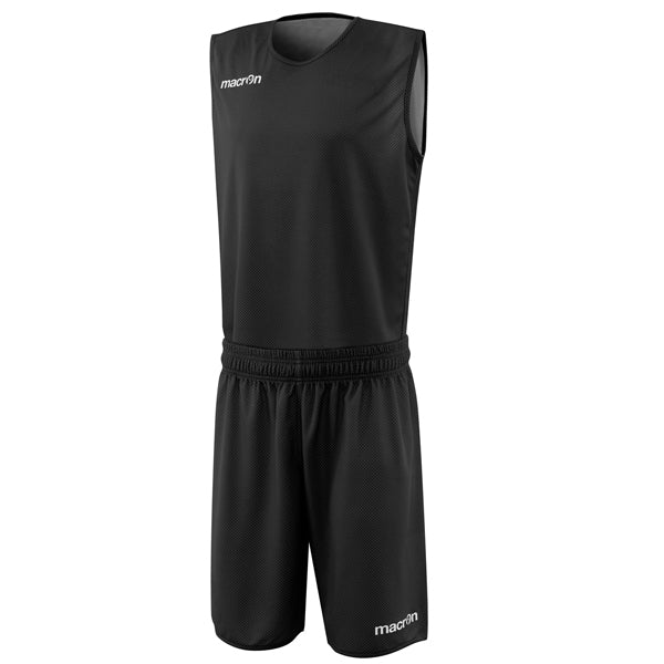 Macron X400 Reversible Basketball Kit Black/White