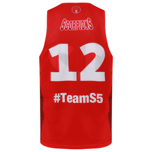 STARTING 5 Sublimated Mesh Basketball Reversible Training Vest - You design it! (Min order 25) - Example 2