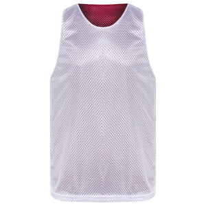 STARTING 5 Manhattan Lightweight reversible training vest Maroon/White