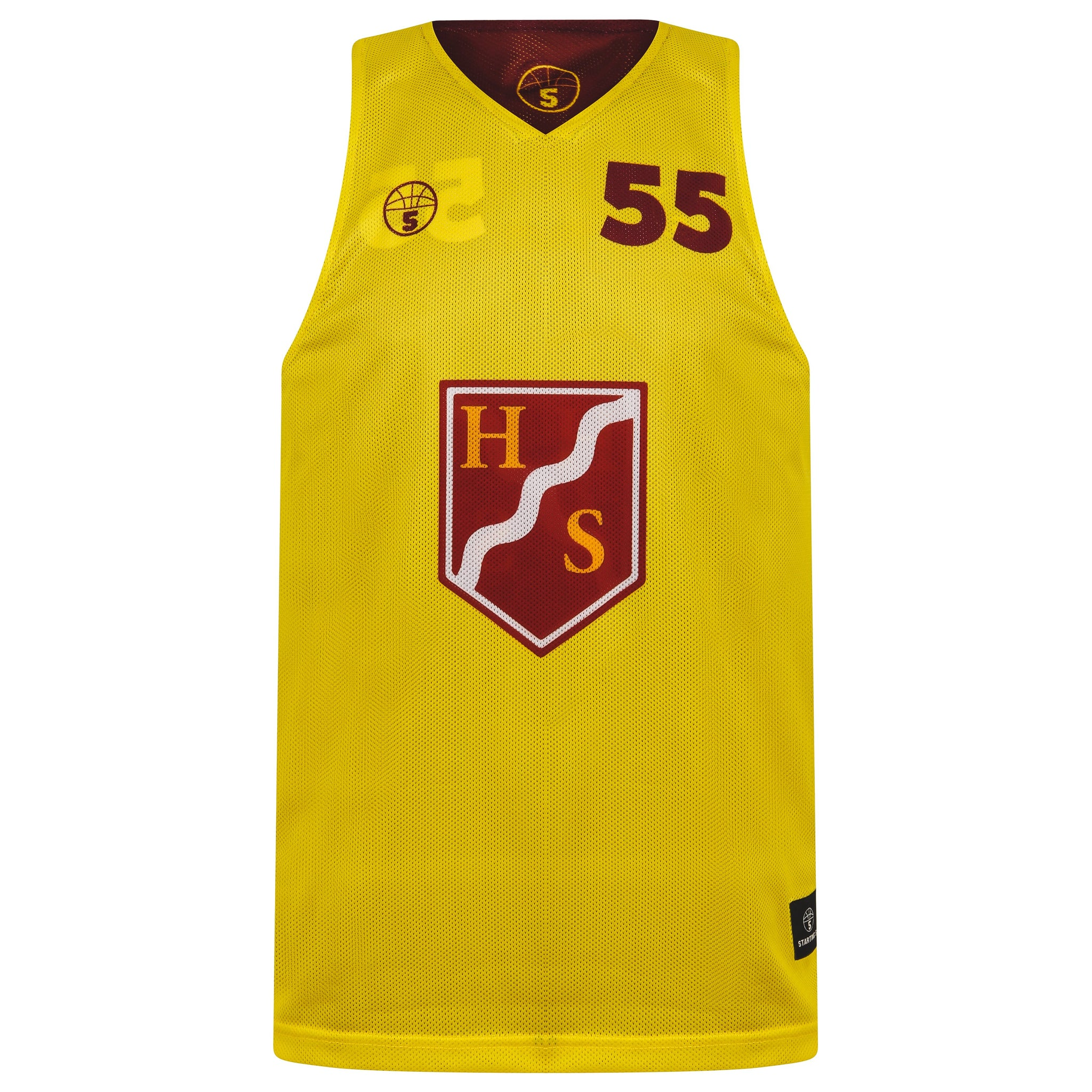 STARTING 5 Sublimated Mesh Basketball Reversible Training Vest - You design it! (Min order 25) - Example 5
