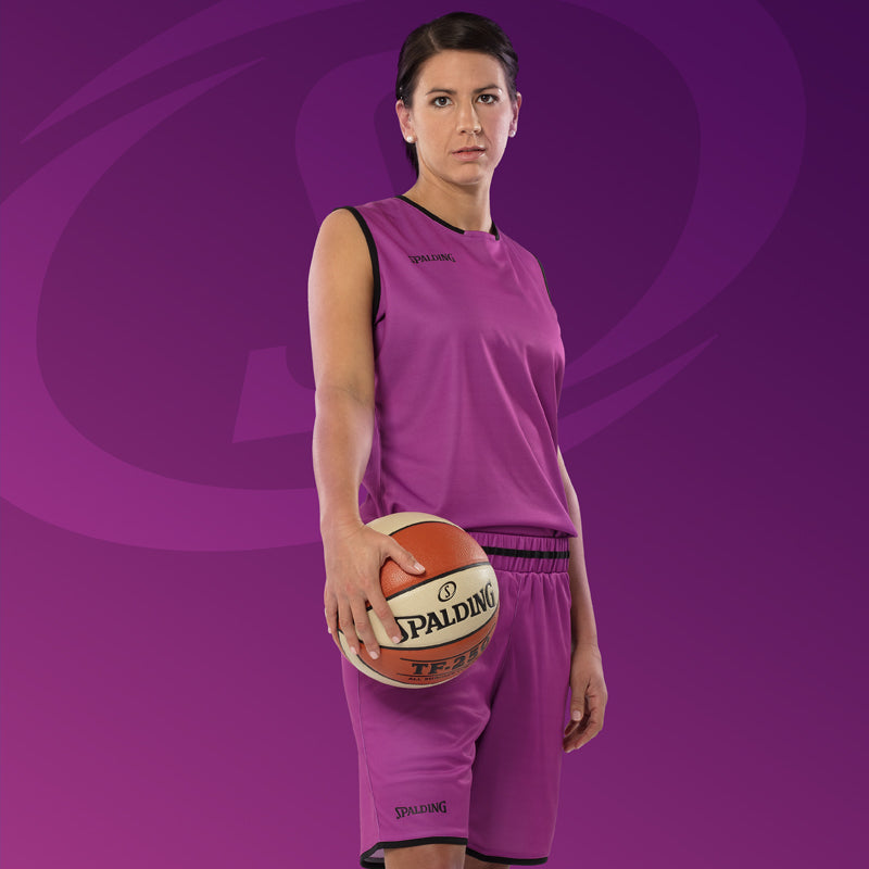 Spalding Move Women Basketball Kit Royal White