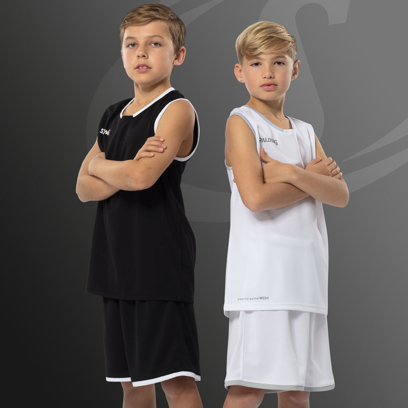 Spalding Move Kids Basketball Kit Black White