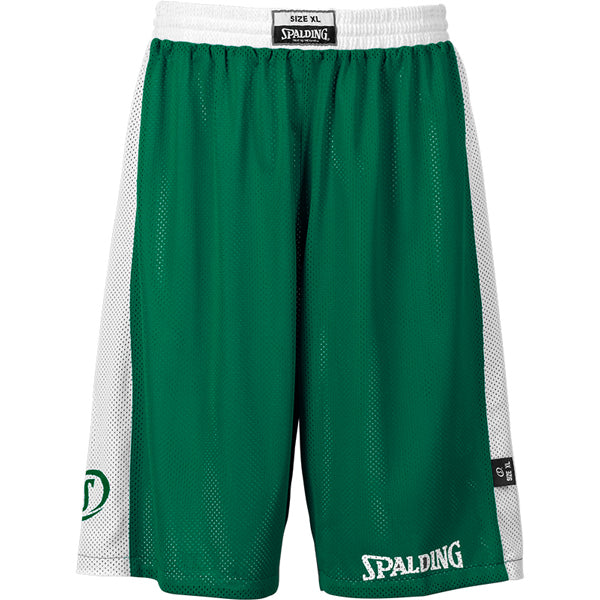Spalding Essential Reversible Basketball Kit Green White