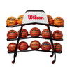 Wilson Deluxe Ball Cart for 15 Basketballs