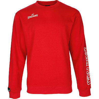 Spalding Team II Crewneck Red