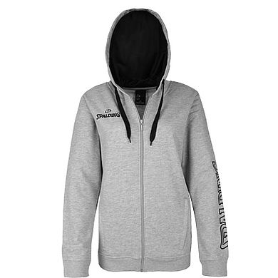 Spalding Team II Jacket 4Her Grey Melange