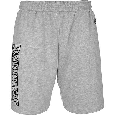 Spalding Team II Long Shorts Grey Melange