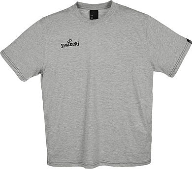 Spalding Team II T-Shirt Grey Melange