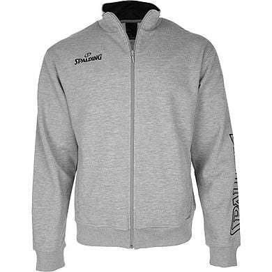 Spalding Team II Zipper Jacket Grey Melange