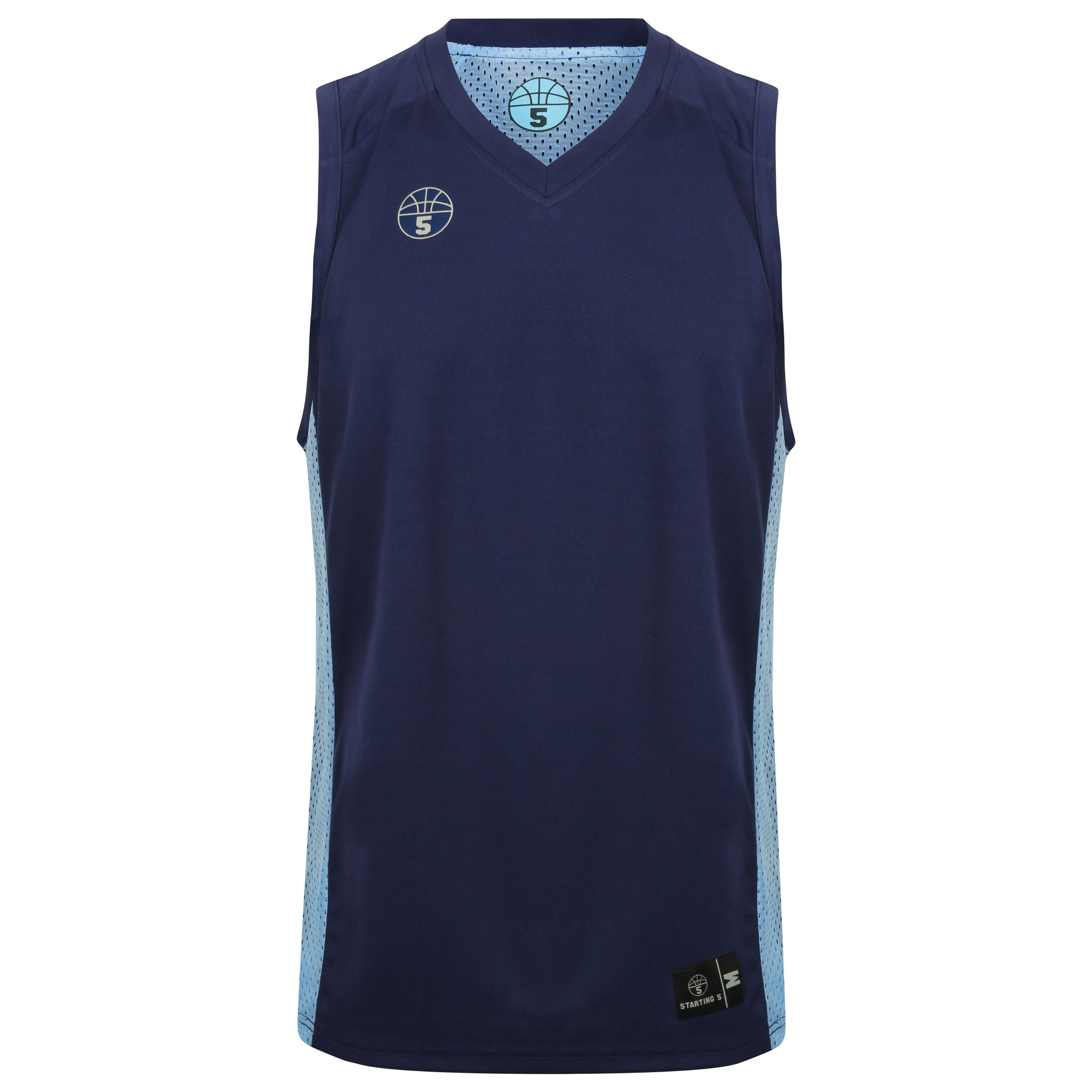 STARTING 5 Franklin Reversible Playing Kit Navy & Sky