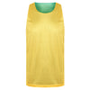 STARTING 5 Manhattan Lightweight reversible training vest Green/Yellow