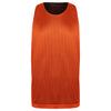 STARTING 5 Manhattan Lightweight Reversible Basketball Training Vest Orange/Black - Bigfoot Basketball Limited