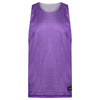 STARTING 5 Manhattan Lightweight reversible training vest Purple/White - Bigfoot Basketball Limited