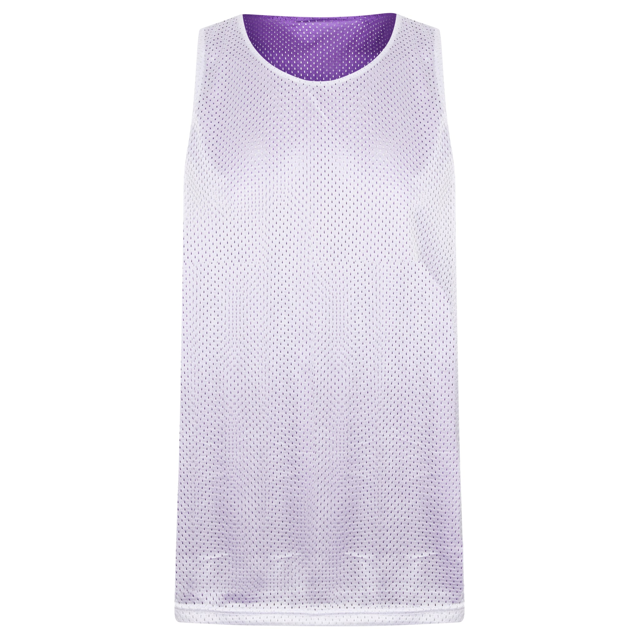 STARTING 5 Manhattan Lightweight reversible training vest Purple/White