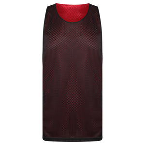 STARTING 5 Manhattan Lightweight reversible training vest Red/Black