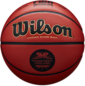 Basketball England Wilson Solution Basketball - Package of 10 Balls