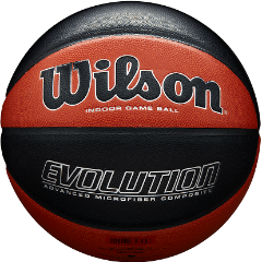 Basketball England Wilson Evolution Basketball - Package of 5 Balls