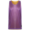 STARTING 5 Manhattan Lightweight reversible training vest Purple/Gold - Bigfoot Basketball Limited
