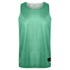 STARTING 5 Manhattan Lightweight reversible training vest Green/White - Bigfoot Basketball Limited
