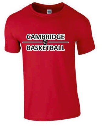 Cambridge Cats Red Tee Shirt