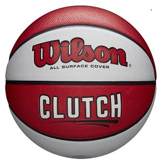 Basketball England Wilson Clutch Basketball - Package of 10 Balls, Size 5 and Size 6 (Choose your own mixture of sizes)
