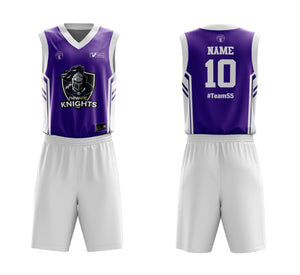 STARTING 5 Sublimated Reversible Kit Example 8