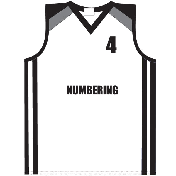 Basketball Teamwear Printing Numbering