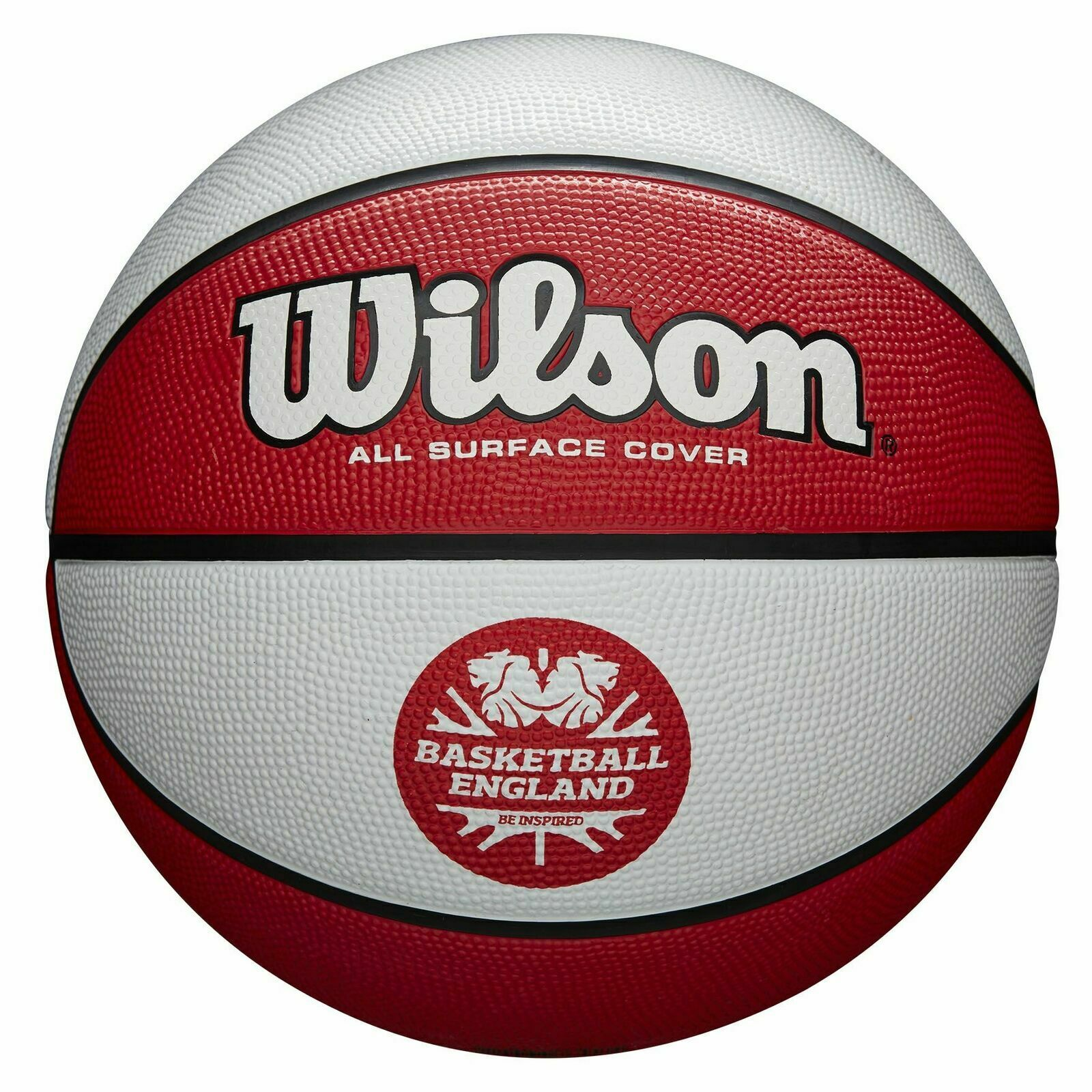 Basketball England Wilson Clutch Basketball - Package of 10 Balls, Size 7