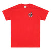 Shenley Scorpions Adult Red Tee Shirt