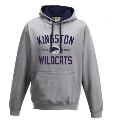Kingston Wildcats School of Basketball Hoodie