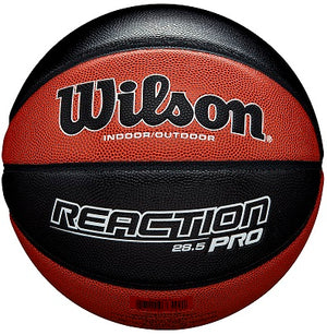 Basketball England Wilson Reaction Pro Basketball - Package of 5 Balls